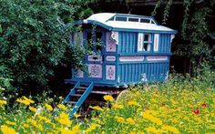 Houses on wheels and gypsywagons