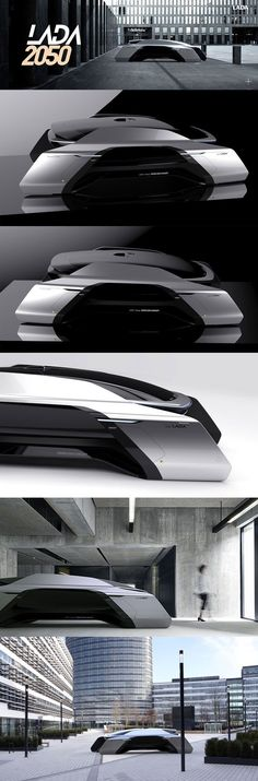 Andrey Kirichenko - LADA 2050 - Vision of future mobility - #designideas #designinspiration #design #productdesign #design #industrialdesign #transport #transportdesign #conceptcar #cardesign #car #lada #future #automotive #automoviedesign #futurecar