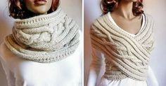 This Incredible Accessory Easily Turns Into aSnood, Dress, Skirt, Vest...