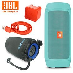 JBL Charge 2 Plus Splashproof Portable Bluetooth Speaker Teal  I3ePro Water Resistant Carry Pouch -- Read more reviews of the product by visiting the affiliate link Amazon.com on the image.