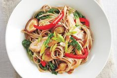 Chicken and Vegetable Soba Noodle Stir-Fry recipe - Canadian Living