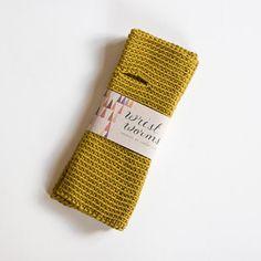 Sandra Juto   Original Wrist Worms, Merino Wool, Mustard
