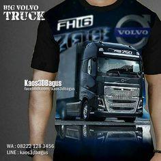 Kaos TRUCK VOLVO, Kaos Truck Trailer, Kaos 3D, Kaos Truck Freight Forwarder, Volvo FH16, WA : 08222 128 3456, LINE : Kaos3DBagus, https://kaos3dbagus.wordpress.com/2017/10/23/kaos-truck-hino-volvo-isuzu-kaos-truck-trailer-kaos-3d/