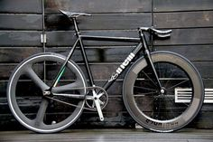 Cinelli Mash - black beauty #cinelli #mash #fixie