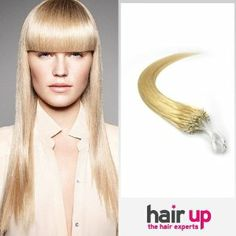 """26"""" Inch Loop Micro Ring Beads Tipped Premium Remy Human Hair Extensions_100 Strands Bleach Blonde_613_(0.5g/s)_50g Weight Full Head_Straight by Hairup. $108.95. Weight:50gWe kindly remind you that the order status online will be trackable in the next 72 hours due to package dispatch. Normally it takes about 10-15 business days for standard delivery and 3-5 days for expedited delivery.. micro link human hair extensions. Color:#613Length:26 Inch. Texture:Straigh..."""