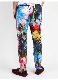 Paul Smith Paul Smith Men's Printed Trouser | oki-ni