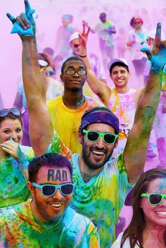 The color run!!! aaaaaah my fav marathon ever!!!!!! So excited to do 2 this year:)) with my love