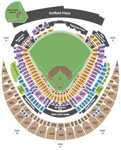 Kauffman Stadium Royals Seating Chart