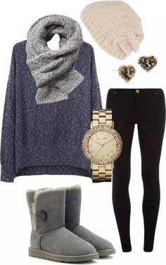 Cool 45 Cute Winter Outfits Ideas For School. More at http://aksahinjewelry.com/2018/01/12/45-cute-winter-outfits-ideas-school/