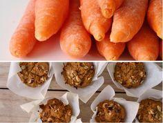 Bolinhos de cenoura, centeio e gengibre // Carrot rye ginger muffins - Compassionate Cuisine