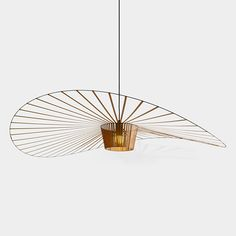 The Vertigo pendant light is an icon of Petite Friture. Created by the designer Constance Guisset it aroused the enthusiasm of design professionals. Chandelier, Pendant Ceiling Lamp, Lamp, Lighting Design, Pendant Lamp, Light, Pendant Lighting, Lights, Light Fixtures