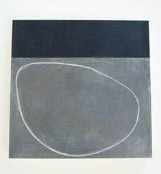 north bedroom *Agnes Martin *Proportion of rectangular strip to circle and background *Something very grounding/anchoring about this painting: