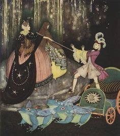 design-is-fine:  Edmund Dulac, Fairy Book, Fairy Tales of the Allied Nation, 1916. Hodder & Stoughton, London. Via Pierangelo Boog
