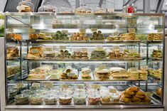 deli display, photo: Tom Blanchford