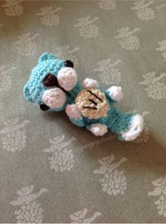 """Free pattern for """"Sea Otter""""...Cute!"""