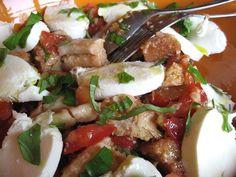 CulinoTests - Panzanella: un délicieux plat minceur pour vous... et un beau régal d'été pour tous vos convives!