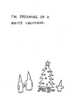 hugleikur dagsson. white christmas.