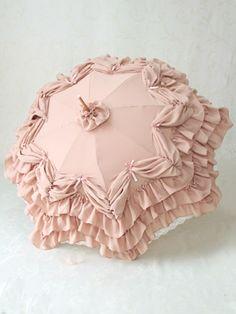Victorian Maiden's Fairy Frill Parasol.
