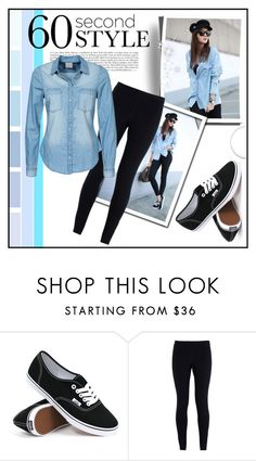 """""""60 Second Style"""" by decisivedreamer ❤ liked on Polyvore featuring Vans, NIKE and Vero Moda"""