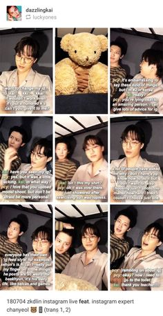 Thnx channy I'll follow Ur advice Exo Ot12, Chanbaek, Exo Kai, Park Chanyeol, Exo Sign, Xiuchen, Kpop Memes, Asian Babies, Kpop Exo