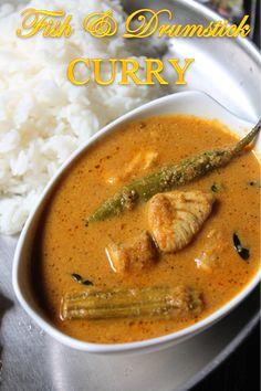YUMMY TUMMY: Drumstick Fish Curry Recipe / Meen Muringakka Kulambu Recipe