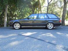 Photo by Gregory Schulz Bmw M5 Touring, Bmw E34, Bmw Wagon, Bmw Classic, Bmw 5 Series, Bmw Cars, Station Wagon, Side View, Profile