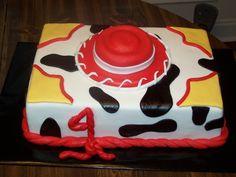 Jessie Toy Story Cake  on Cake Central