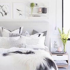 """""""The perfect cosy bedroom of Perth girl Tarina @oh.eight.oh.nine"""