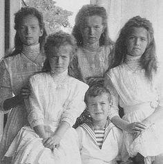 Nicolás y Alejandra - El Romanov Niños - Imagen de previsualización