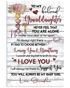 Shop for unique Granddaughter apparel and homegoods on CoolGrandmaStore. Find the perfect Granddaughter t-shirts, mugs, posters, phone cases, and more. My Children Quotes, Quotes For Kids, Family Quotes, Great Quotes, Inspirational Quotes, Child Quotes, My Daughter Quotes, Grandmother Quotes, Nephew Quotes