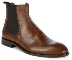 Fabri Leather Chelsea Boots