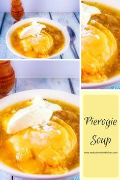 Pierogie Soup from Seduction in the Kitchen featuring Cleveland Kraut