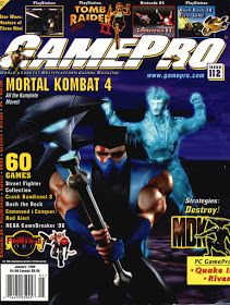 I never really took to the Mortal Kombat series, you know. I played it a bunch in my youth, especially Mortal Kombat 3 because a friend ow. Gaming Magazines, Video Game Magazines, Classic Video Games, Retro Video Games, Mortal Kombat 4, Cynthia Rothrock Movies, I Love Games, Street Fighter, Fighting Games