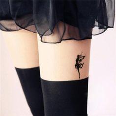 Leg tattoo models