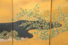 Edo Six-Panel Japanese Screen 7