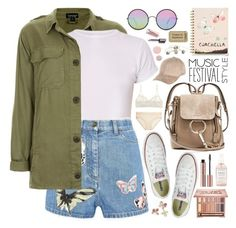 """2569. NEVER GIVE UP! ♥"" by chocolatepumma ❤ liked on Polyvore featuring Topshop, Valentino, Hanky Panky, Converse, Acne Studios, Sunday Somewhere, River Island, Sugar Paper, Urban Decay and Herbivore"