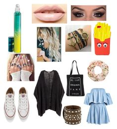"""Untitled #14"" by tyler-elizabeth on Polyvore featuring H&M, Converse, Vans, Forever 21, M&F Western, LASplash, MAC Cosmetics and New Look"
