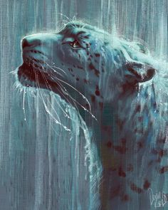 Fantasy Animal Paintings That Show The Real Magic In The World Fantasy Animal, Fantasy Art, Big Cats Art, Cat Art, Fantasy Paintings, Animal Paintings, Illustrator, Empire Of Storms, Throne Of Glass Series