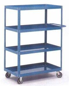 Shelf Trucks available in 4 and 5 shelf models with optional ergonomic handles or pick trays Chemical Industry, Storage Room, Cool Suits, Warehouse, Bookcase, Trucks, Shelves, Models, Shelving