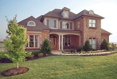 Eplans New American House Plan - Stately, Yet Warm and Welcoming - 3482 Square Feet and 5 Bedrooms from Eplans - House Plan Code HWEPL09986