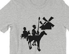 Don quixote and sancho at the windmills don quixote pinterest don quixote t shirt tilting at windmills t shirt fandeluxe Gallery