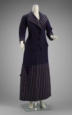 Suit by Kater and Brooks, circa 1910, United States, via MFA Boston.