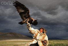 Kazak eagle hunter, Mongolia. Not. Fair.