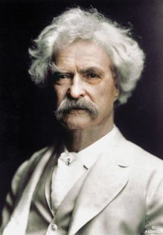 Mark Twain Source: Mark Twain House & MuseumYou can find Mark twain and more on our website. Society Problems, History Images, Writers And Poets, Mark Twain, Book Authors, Books, Portfolio, Cinema, Old Pictures