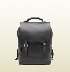 9a5590b722c4 Backpack on shopstyle.co.uk Brown Leather Backpack, Leather Bags, Gucci  Black