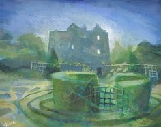 Hazel Nagl Knot Garden | Billcliffe Gallery