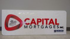 This beautiful sign for Capital Mortgages Inc completed by Speedpro Imaging Ottawa!