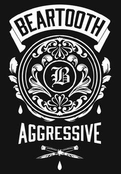 "Beartooth ""Aggressive"" Wall Flag"