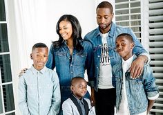 GABRIELLE UNION AND THE FAMILY SHE CAN'T LIVE WITHOUT - Black Celebrity Kids