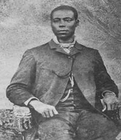 Next time you pick up your clothes from the cleaners, remember Thomas L. Jennings, first brother to receive a patent: for dry cleaning process